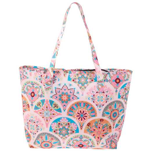 KA302905: Karma Cooler Tote Multicolored Pink