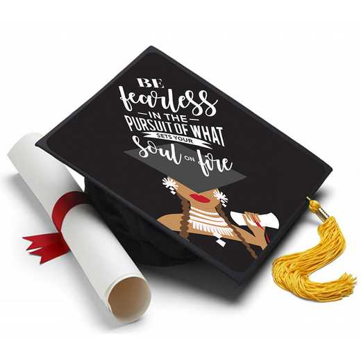 SOULFIRE: Set Your Soul on Fire Grad Cap Topper