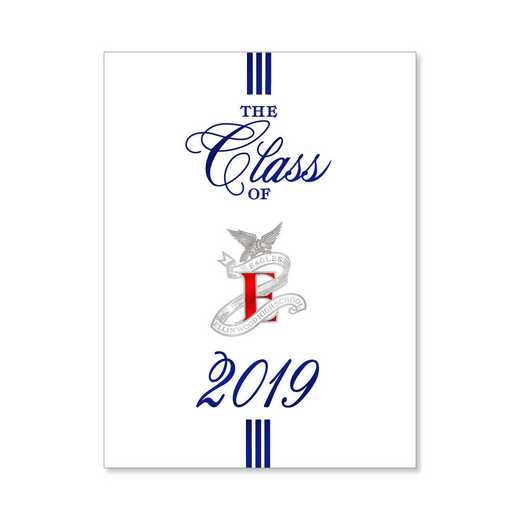 Ellinwood High Traditional Personalized Announcement