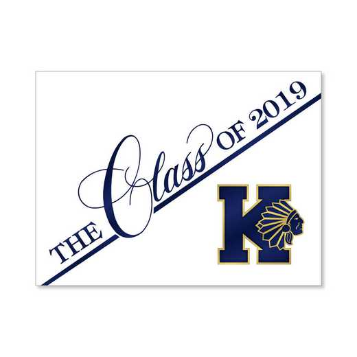 Keller High Traditional Personalized Announcement
