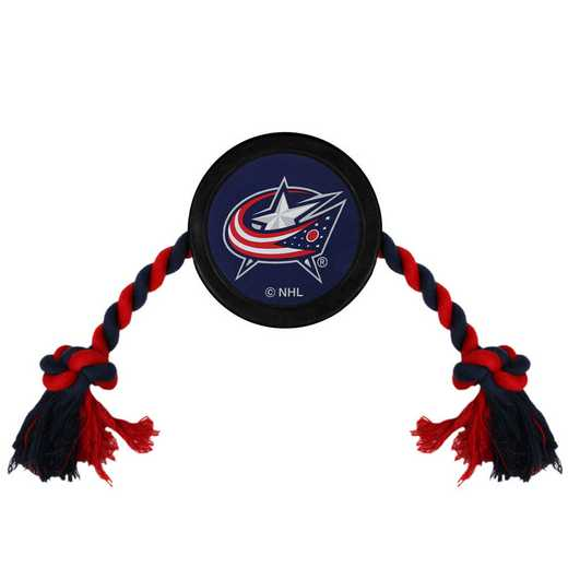 CBJ-3233: COLUMBUS BLUE JACKETS HOCKEY PUCK TOY