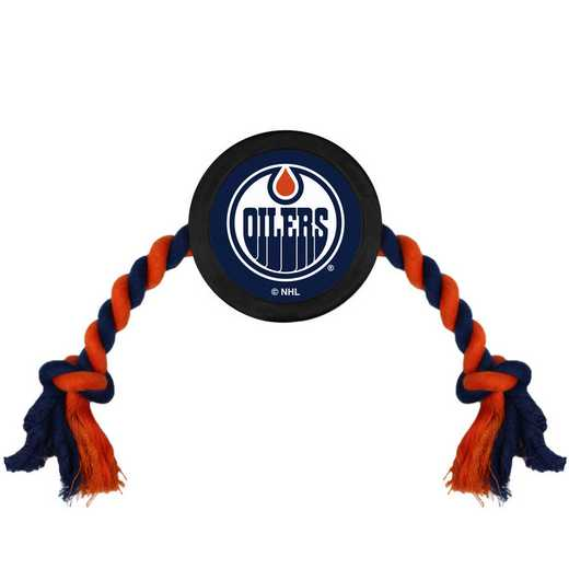 OIL-3233: EDMONTON OILERS HOCKEY PUCK TOY