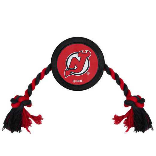 NJD-3233: NEW JERSEY DEVILS HOCKEY PUCK TOY