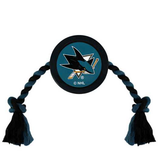 SJS-3233: SAN JOSE SHARKS HOCKEY PUCK TOY