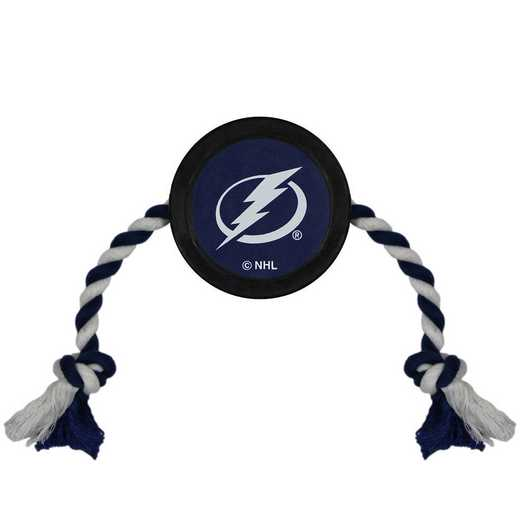 LTG-3233: TAMPA BAY LIGHTNING HOCKEY PUCK TOY