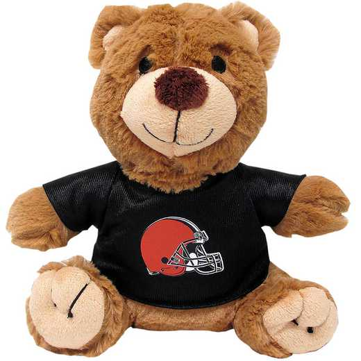 CLE-3119: CLEVELAND BROWNS TEDDY BEAR