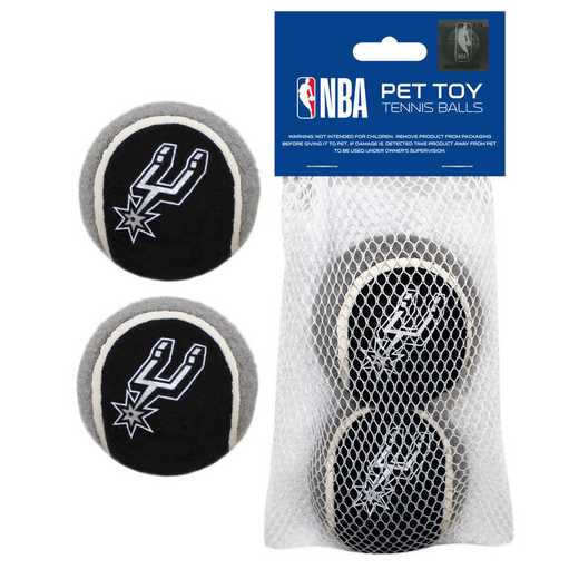 SPU-3189: SAN ANTONIO SPURS 2PC TENNIS BALLS