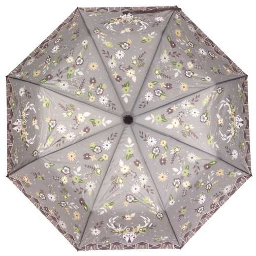 KA301811: Karma Travel  Umbrellas Taupe Flower