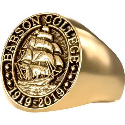 Babson College Centennial Ring