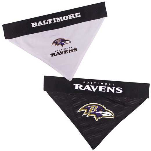 BALTIMORE RAVENS Reversible Pet Bandana