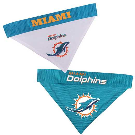 MIAMI DOLPHINS Reversible Pet Bandana