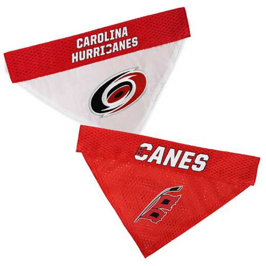 CAROLINA HURRICANES Reversible Pet Bandana