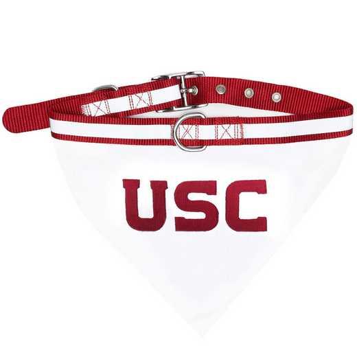USC Bandana Dog Collar
