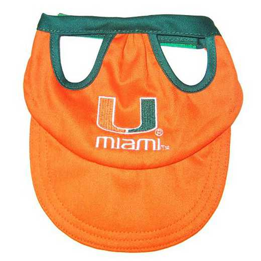 U OF MIAMI PET CAP