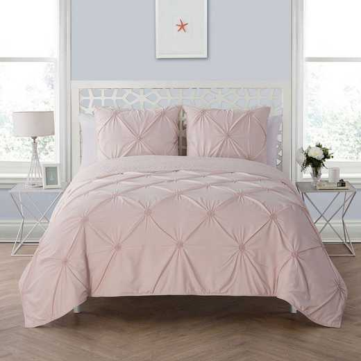 VCNY Home Floral Burst Quilt Set Blush