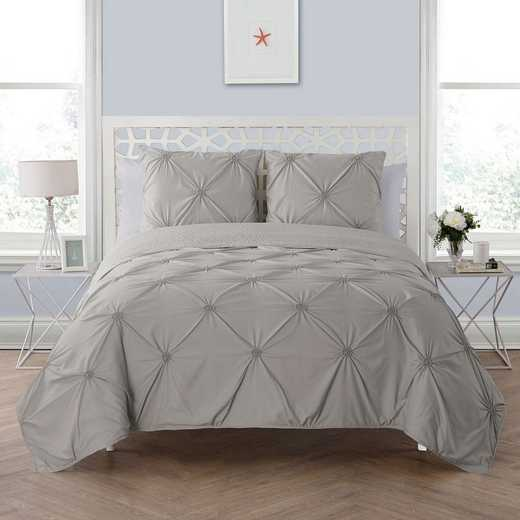 VCNY Home Floral Burst Quilt Set Grey