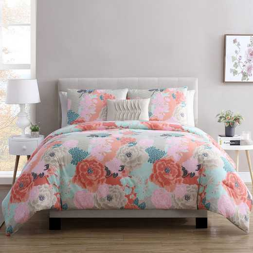 VCNY Home Jodi Floral Comforter Set Multicolored