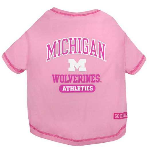 MICHIGAN Pink Pet T-Shirt