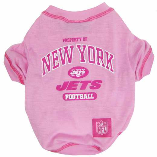 NEW YORK JETS Pink Pet T-Shirt