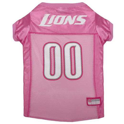DETROIT LIONS Pink Pet Jersey