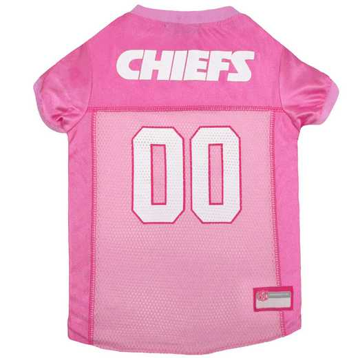 KANSAS CITY CHIEFS Pink Pet Jersey