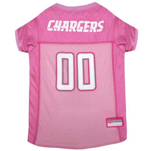 LOS ANGELES CHARGERS Pink Pet Jersey