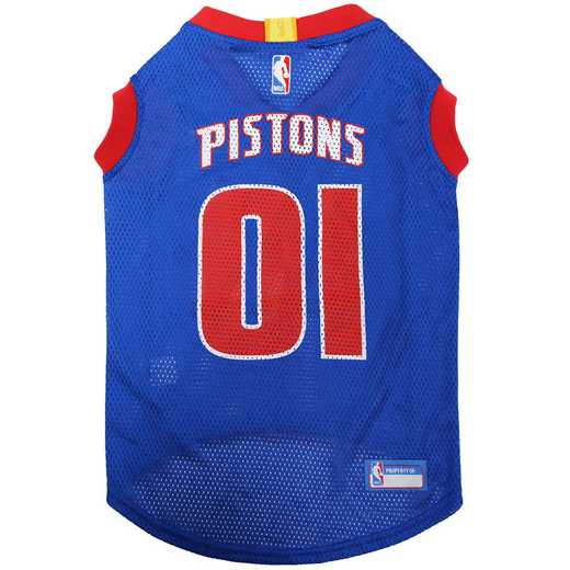 DETROIT PISTONS Mesh Basketball Pet Jersey