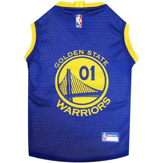 GOLDEN STATE WARRIORS Mesh Basketball Pet Jersey