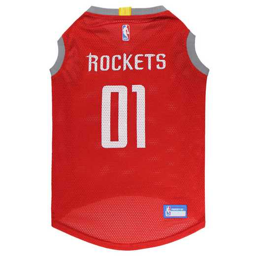HOUSTON ROCKETS Mesh Basketball Pet Jersey