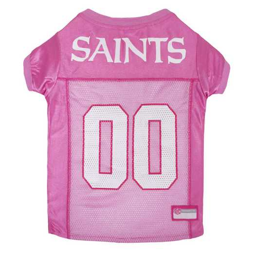 NEW ORLEANS SAINTS Pink Pet Jersey