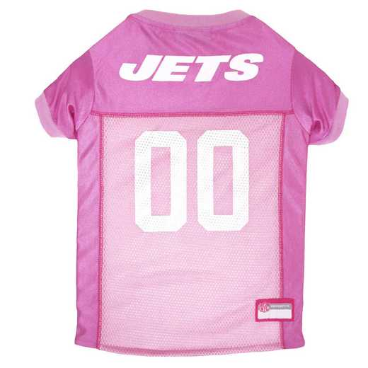 NEW YORK JETS Pink Pet Jersey