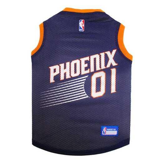 PHOENIX SUNS Mesh Basketball Pet Jersey