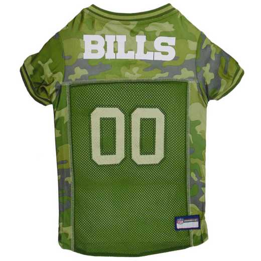 BUFFALO BILLS Pet Camo Jersey