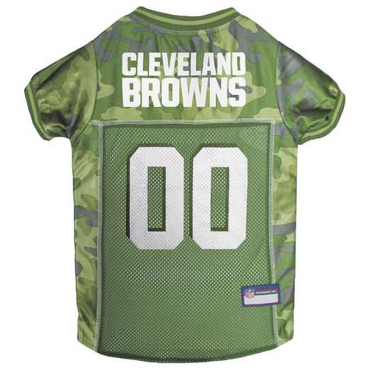CLEVELAND BROWNS Pet Camo Jersey