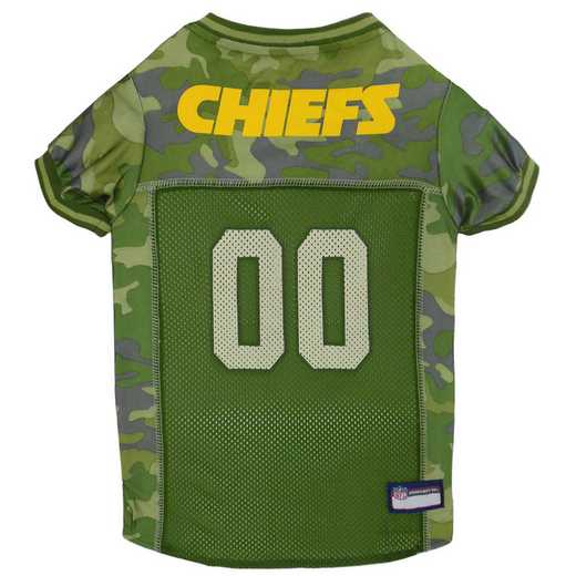 KANSAS CITY CHIEFS Pet Camo Jersey