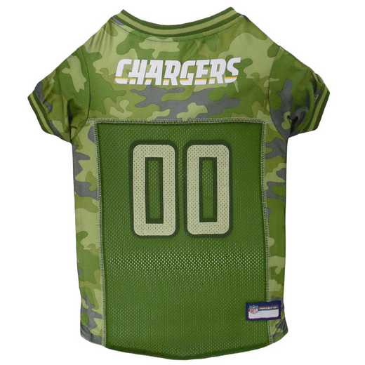 LOS ANGELES CHARGERS Pet Camo Jersey