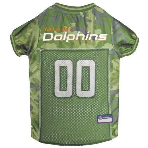 MIAMI DOLPHINS Pet Camo Jersey