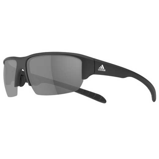 A421-6063: Men's Kumacross Halfrim Sunglasses - Black Matte