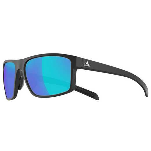 A423-6055: Men's Whipstart Sunglasses - Black Matte