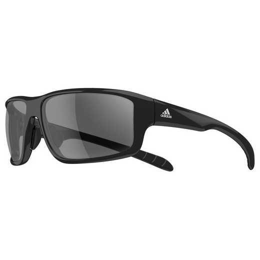 A424-6050: Men's Kumacross 2.0 Sunglasses - Black Shiny & Black