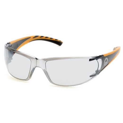 HD0104V-01C: Men's Sunglasses - Black & Orange