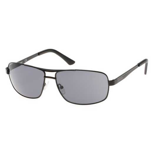 HD0642S-02A: Men's Navigator Sunglasses - Black & Smoke