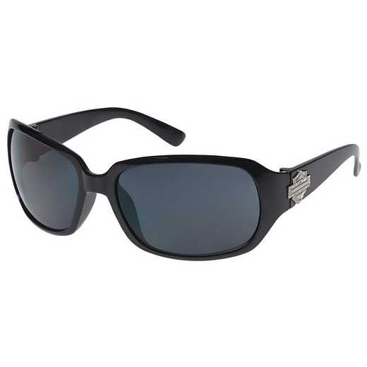 HDS-5006S-BLK-3: Women's Sunglasses - Black