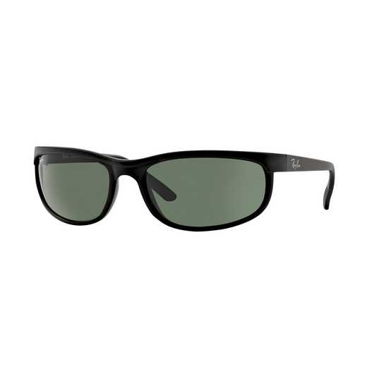 0RB2027W184762: Predator 2 Sunglasses - Black & Green