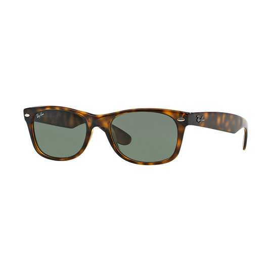 0RB2132902L55: New Wayfarer Sunglasses - Tortoise & Green
