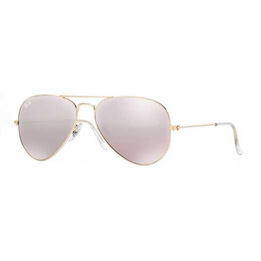 0RB30250013E: Aviator Sunglasses - Pink Flash
