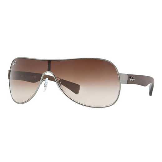 0RB34710291332: RB3471 Sunglasses - Gunmetal & Brown