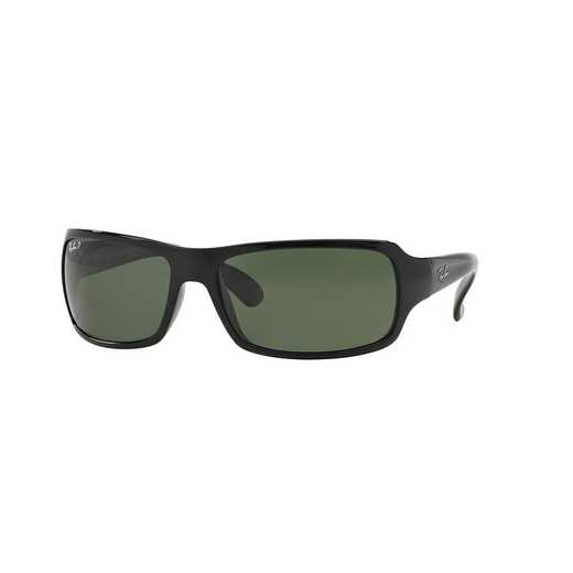 0RB40756015861: Polarized RB4075 Sunglasses - Black