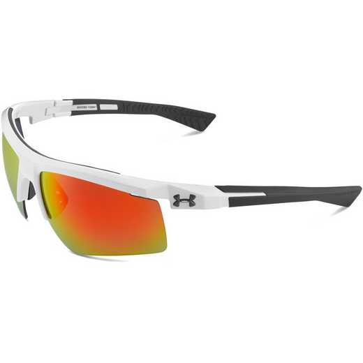8600082-100941: Core 2.0 White-Gray Temples & Gray Orange Multiflection Lens