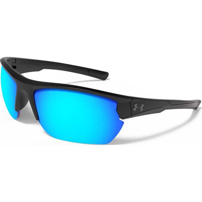 8600106-010161: Propel - Satin Black  &  Blue Mirror